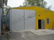 Строительство ангаров любых типов,  строительство складов в Украине.