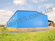 Строительство ангаров в Чернигове,  производственные помещения,  склады